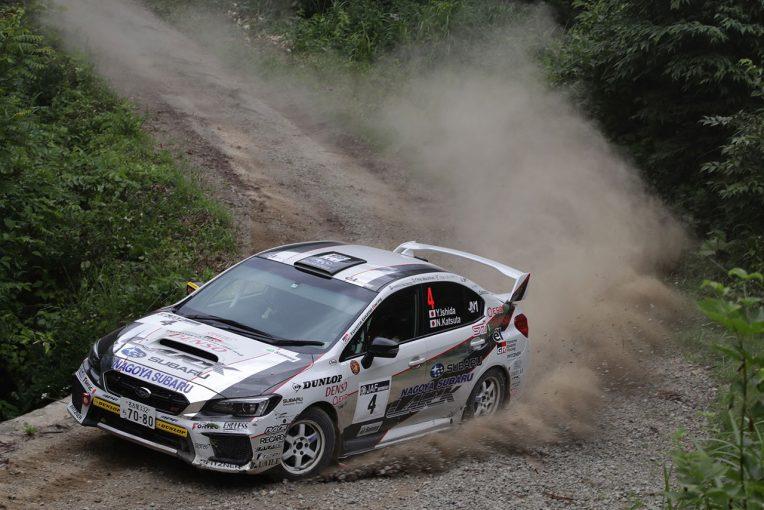 ラリー/WRC | 全日本ラリー第7戦:勝田範彦が逆転で2勝目。新井敏弘が総合2位に続く