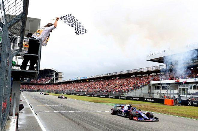 2019年F1第11戦ドイツGPで3位に入ったダニール・クビアト