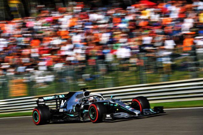 2019年F1第13戦ベルギーGP FP3のクラッシュから予選に間に合ったルイス・ハミルトン