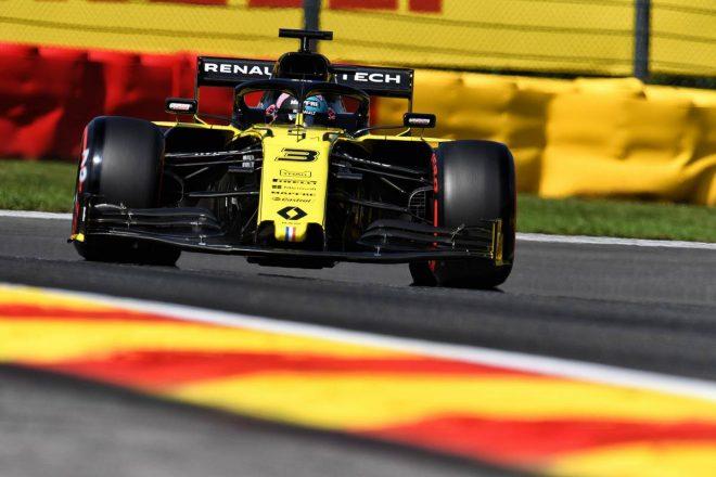 2019年F1第13戦ベルギーGP予選 ダニエル・リカルド(ルノー)