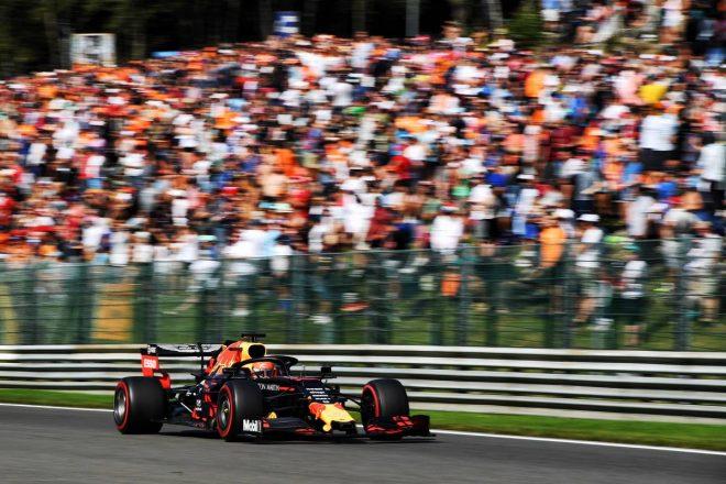 2019年F1第13戦ベルギーGP マックス・フェルスタッペン(レッドブル・ホンダ)