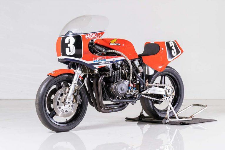 MotoGP | 鈴鹿8耐オークション落札結果が発表。ホンダRS1000レーサーに963万円の高値