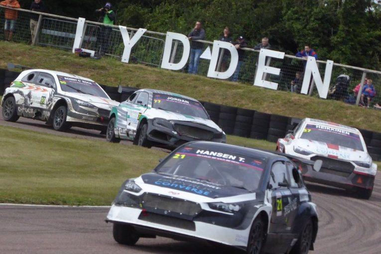 ラリー/WRC | 新設ラリークロス『タイタンRX』第2戦は15台集まる盛況ぶり。予選ではピケJr.がポール