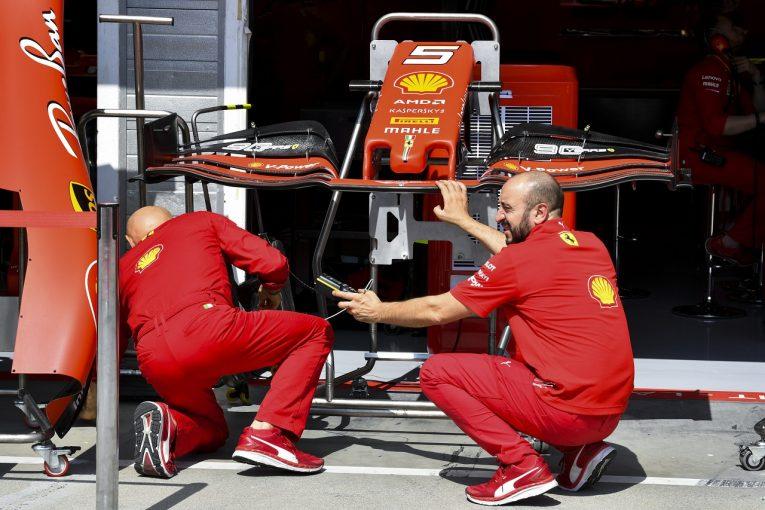 F1   フェラーリ、ハンガリーGPに空力アップデートを導入。ドイツでの失態を受け、信頼性の問題解決にも取り組む