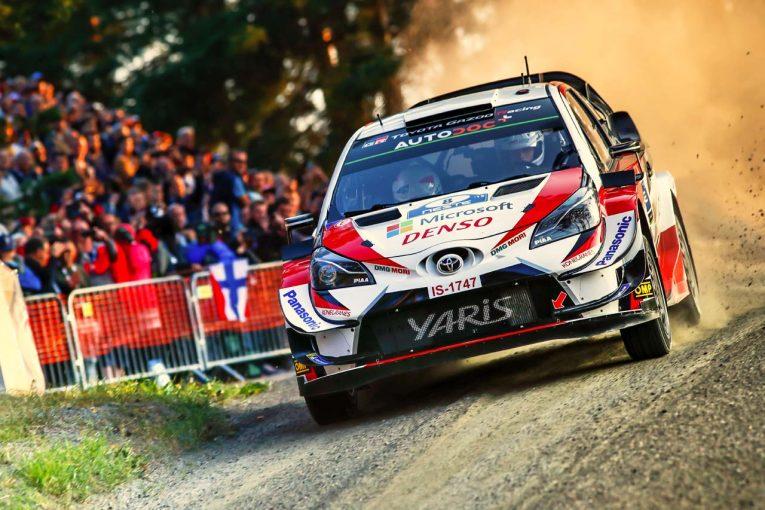 ラリー/WRC   WRC:トヨタ、母国フィンランド初日は2、3番手。ラトバラ「多くの応援が自信を与えてくれる」