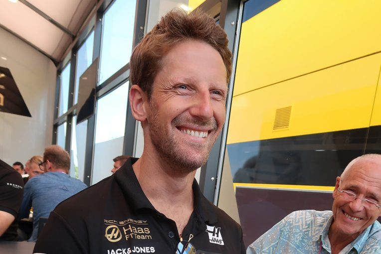 F1 | ロマン・グロージャンインタビュー:3度の同士討ちも「お互いを尊重する関係は変わっていない」チーム残留にも自信