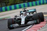 F1 | F1第12戦ハンガリーGP FP1:雨のハンガロリンクでハミルトンがトップタイム。レッドブル・ホンダは2、4番手の好発進