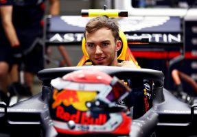 F1 | トップのガスリー「金曜のタイムに大きな意味はないが、ドライでもウエットでも速かったことは心強い」レッドブル・ホンダF1