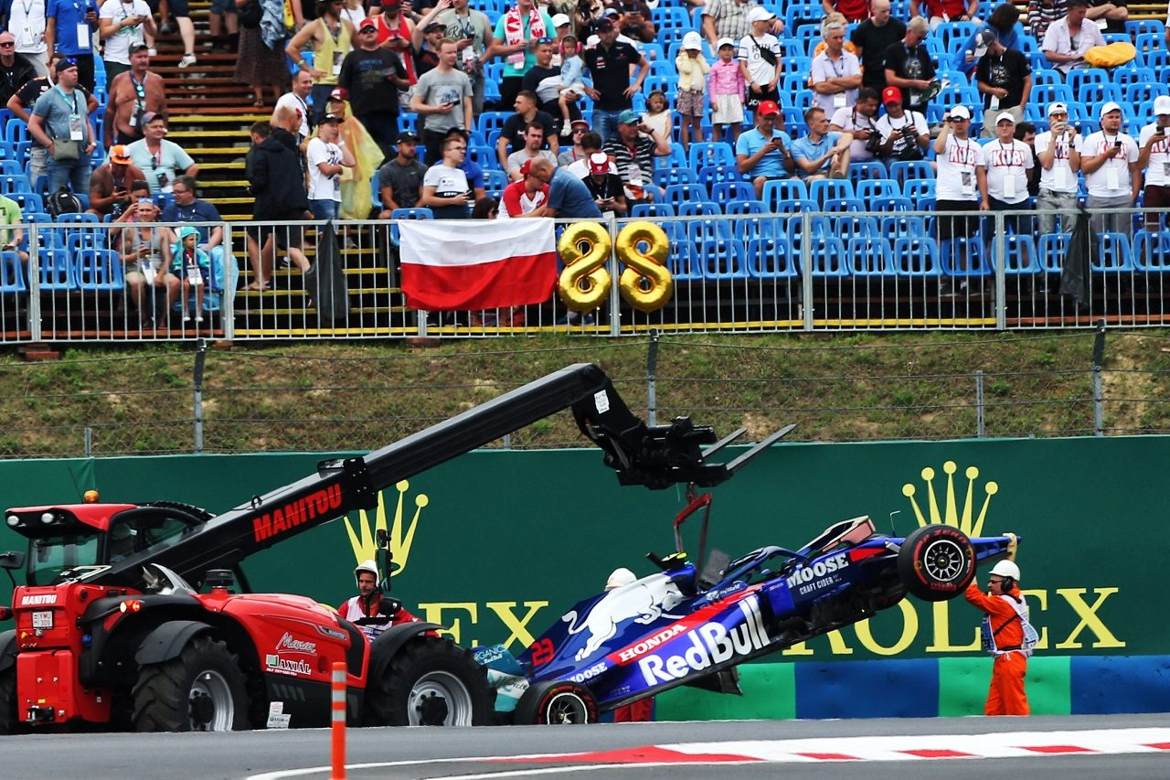 2019年F1第12戦ハンガリーGP金曜FP2 アレクサンダー・アルボン(トロロッソ・ホンダ)