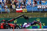 F1 | アルボン、クラッシュでFP2を走れず「愚かなミスをした。土曜でないだけマシと考えるしかない」:トロロッソ・ホンダF1