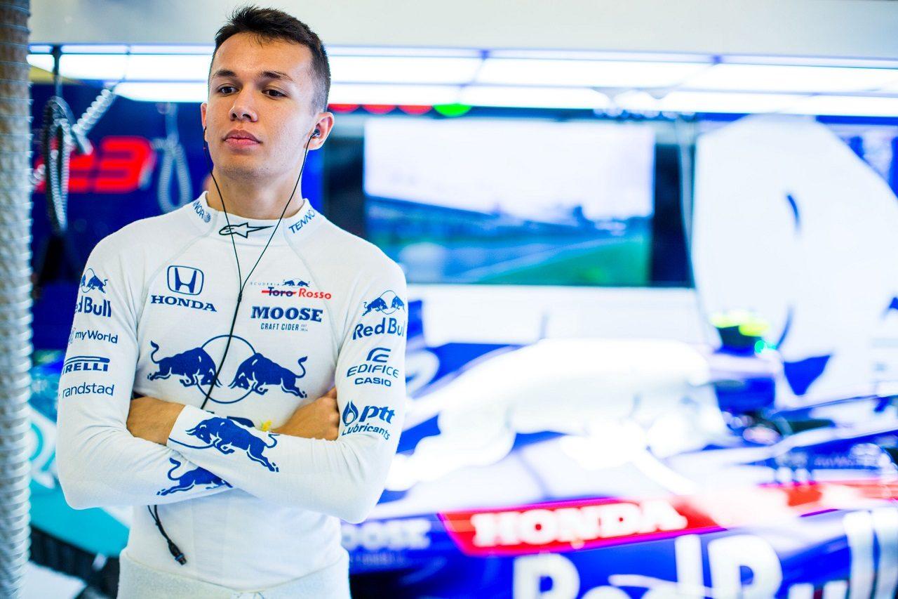 2019年F1第12戦ハンガリーGP金曜 トロロッソ・ホンダのアレクサンダー・アルボン