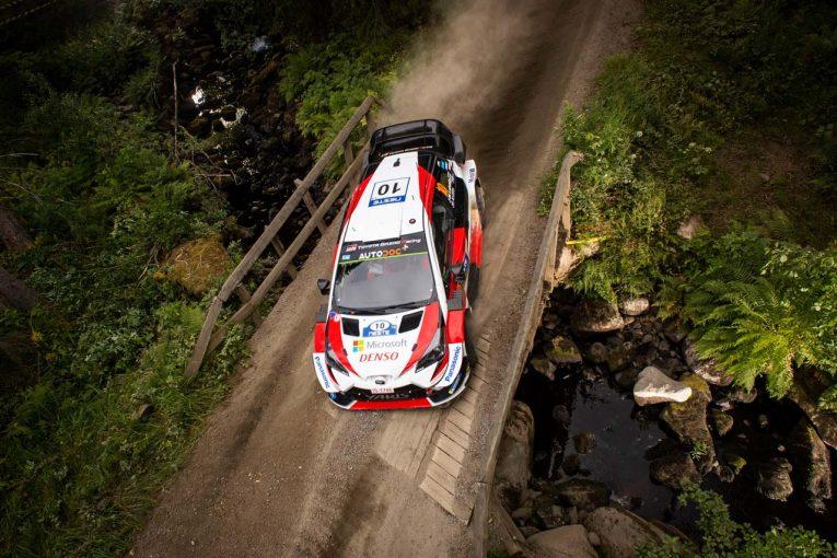 ラリー/WRC   【順位結果】2019年WRC第9戦フィンランド SS11後