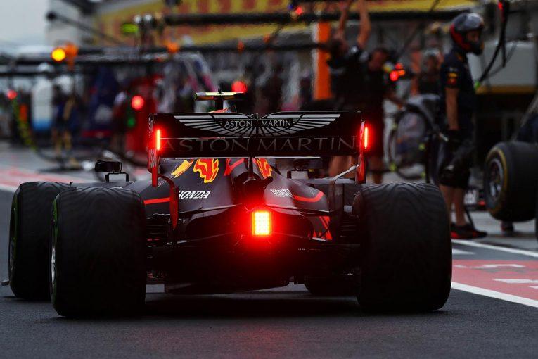 F1 | レッドブル・ホンダ密着:1-2を記録したドライだけでなく、PU側は雨対策も万全/F1ハンガリーGP初日