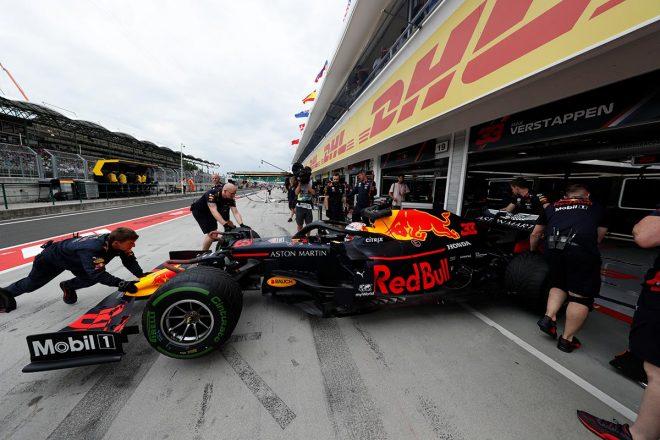 2019年F1第12戦ハンガリーGP金曜のFP2でマックス・フェルスタッペンは2番手