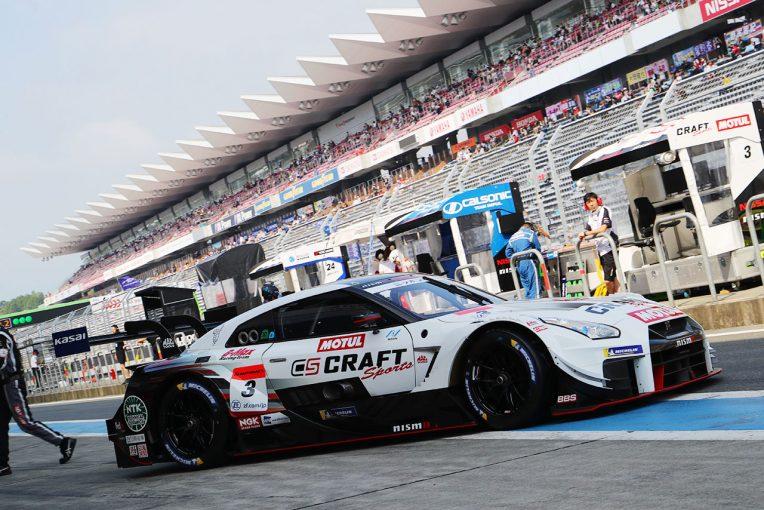 スーパーGT | スーパーGT:500マイルの戦いが開幕。CRAFTSPORTS GT-R最速の公式練習はトップ10が0.686秒差