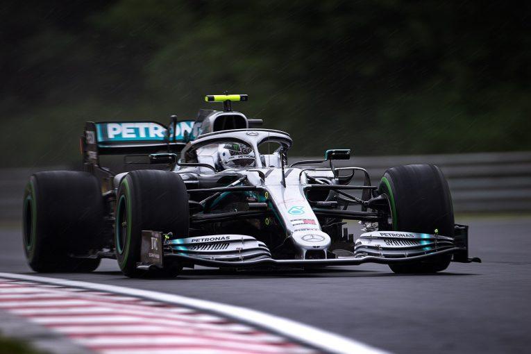 F1 | ボッタス、トラブルでパワーユニットを交換「ウエットでの感触は先週よりもいい」:メルセデス F1ハンガリーGP金曜
