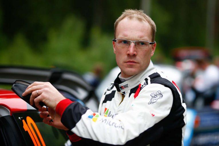 ラリー/WRC | 母国で速さみせたラトバラ「タイム差がなく、大きなプレッシャーを感じた」/2019WRC第9戦フィンランド デイ2後コメント
