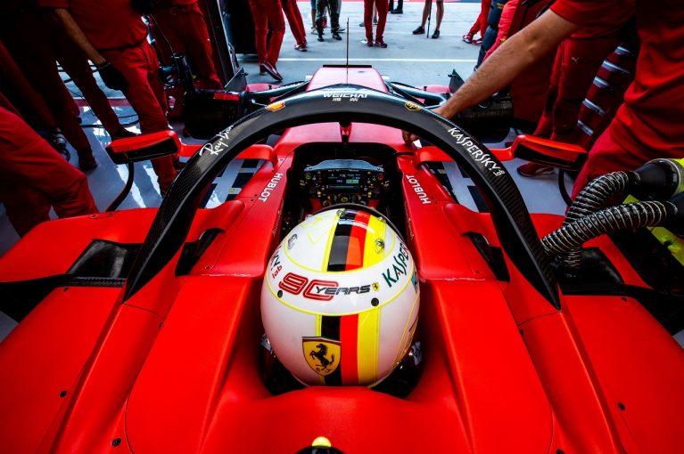 F1 | ベッテル「空力アップデートは予想どおりに機能してしている」:フェラーリ F1ハンガリーGP金曜