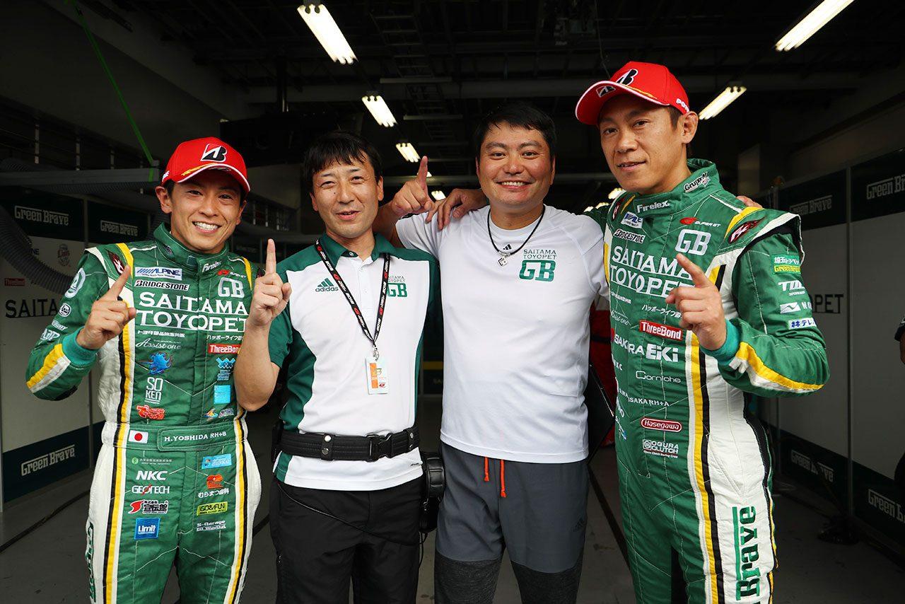 GT300ポールを獲得した埼玉トヨペット Green Brave