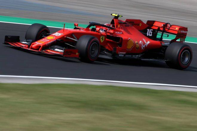 2019年F1第12戦ハンガリーGP シャルル・ルクレール(フェラーリ)