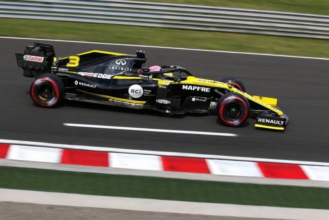 2019年F1第12戦ハンガリーGP予選Q1落ちを喫してしまったダニエル・リカルド(ルノー)