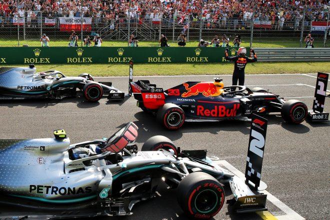 2019年F1第12戦ハンガリーGP マックス・フェルスタッペン(レッドブル・ホンダ)がメルセデスに勝ち、ポールポジションを獲得