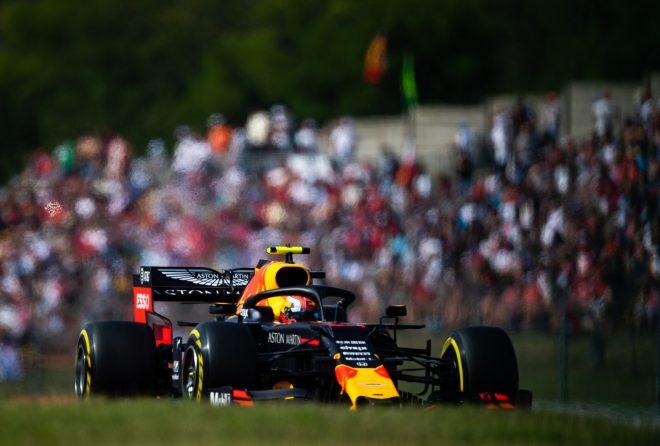 2019年F1第12戦ハンガリーGP土曜 ピエール・ガスリー(レッドブル・ホンダ)
