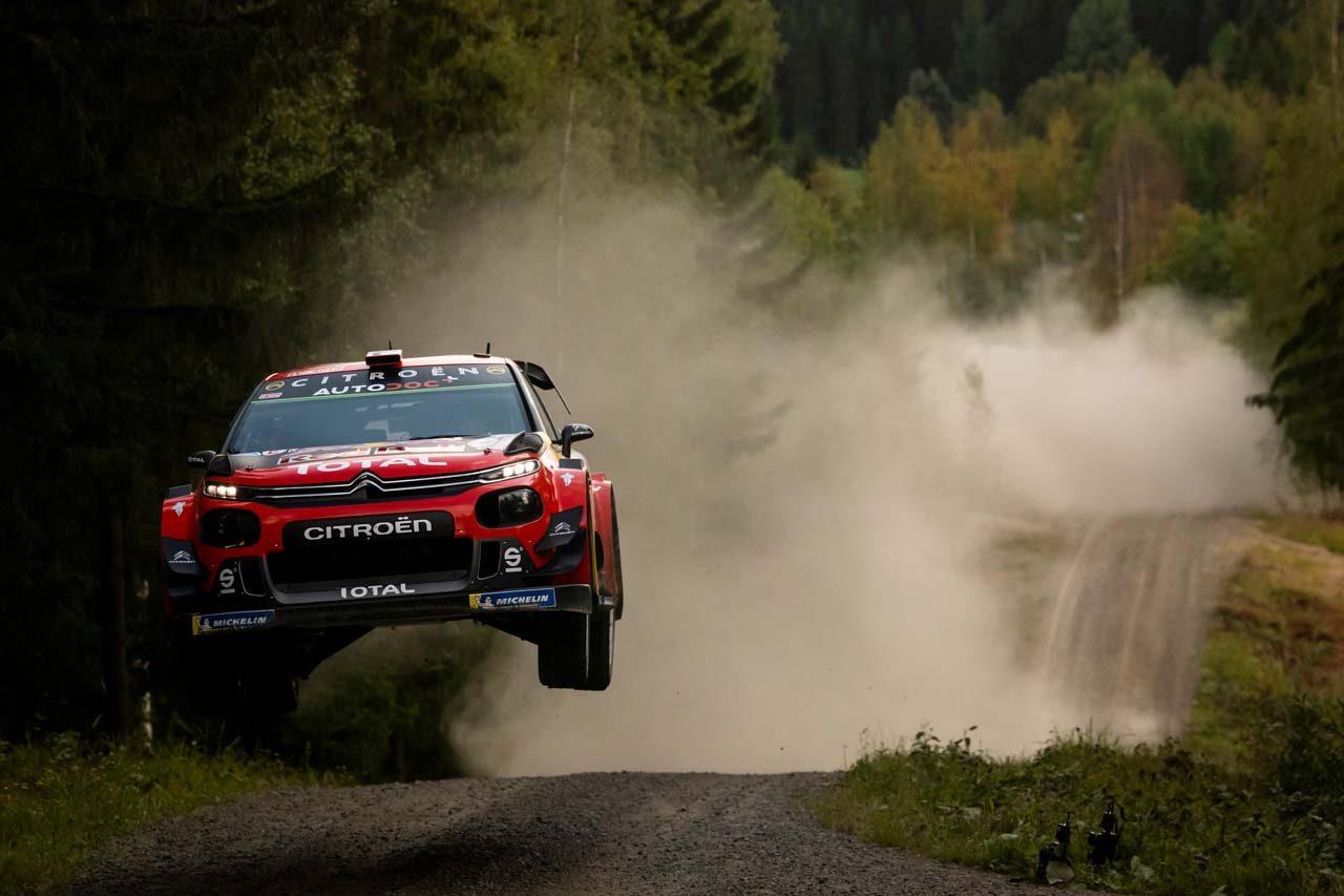 WRCフィンランド:トヨタ2台にアクシデント発生も、タナクが首位を守って最終日へ