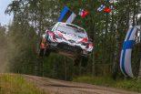 ラリー/WRC | WRCフィンランド:トヨタ2台にアクシデント発生も、タナクが首位を守って最終日へ