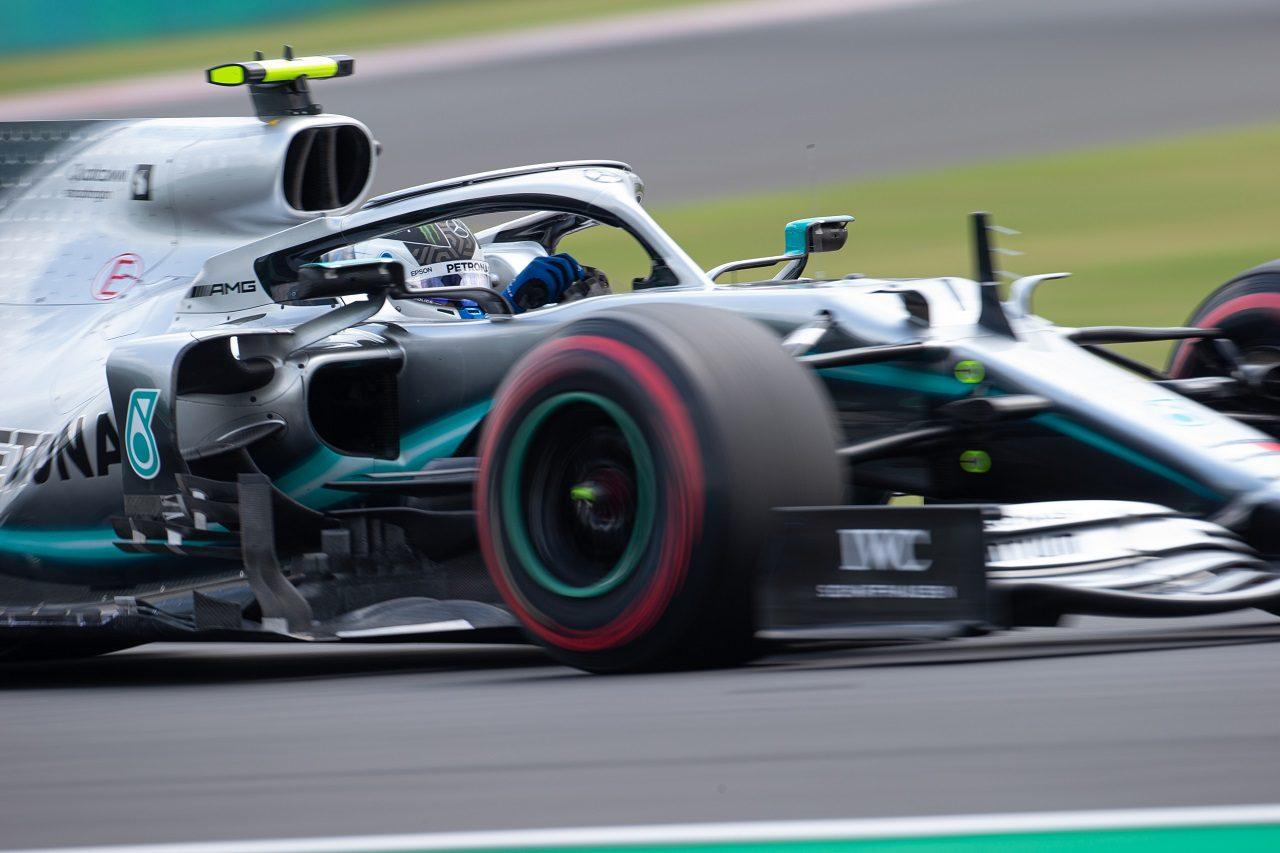 2019年F1第12戦ハンガリーGP土曜 バルテリ・ボッタス(メルセデス)