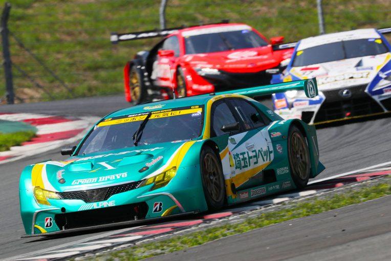 スーパーGT   ポールスタートの埼玉トヨペットGB マークXが快走。実質首位で後半戦へ【スーパーGT第5戦富士GT300中間レポート】