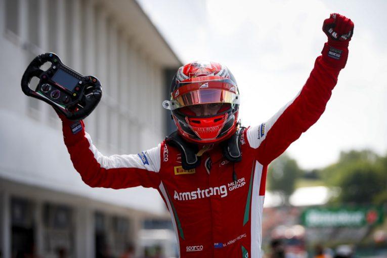 海外レース他 | 【順位結果】FIA-F3第5戦ハンガリー レース2:アームストロング初優勝。角田はレース1に続きポイント奪取