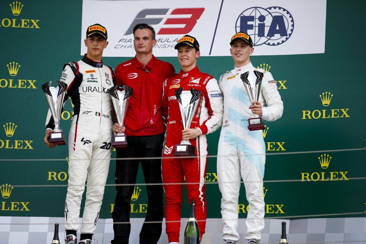 【順位結果】FIA-F3第5戦ハンガリー レース2:アームストロング初優勝。角田はレース1に続きポイント奪取