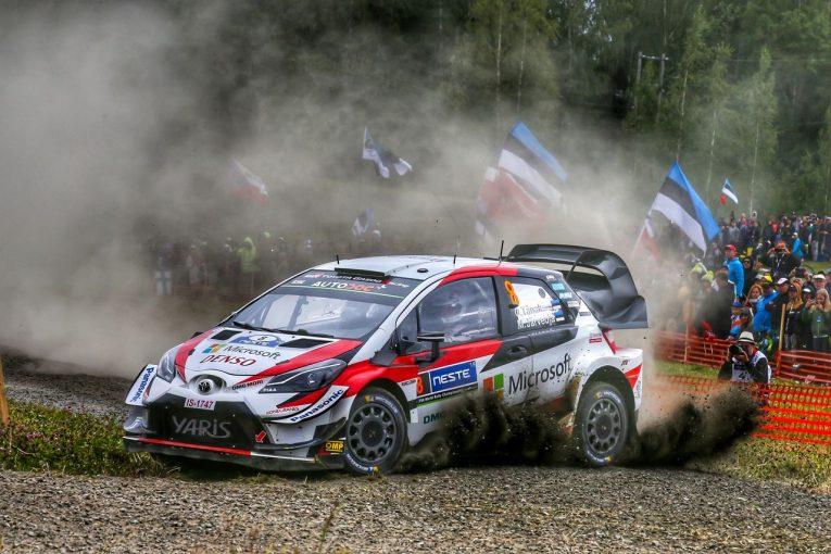 ラリー/WRC   WRCフィンランド:トヨタが3年連続優勝! タナク、今季4勝目で選手権のリード広げる