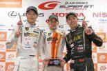 スーパーGT | T-DASH ランボルギーニ藤波清斗、1周だけの第2スティントは「賭けでもあった」/第5戦富士GT300優勝会見