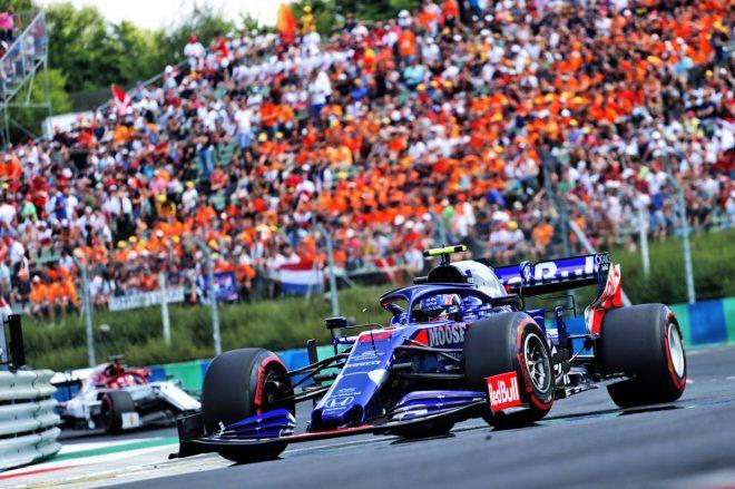 2019年F1第12戦ハンガリーGP決勝 10位に入賞したアレクサンダー・アルボン(トロロッソ・ホンダ)