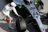 F1 | 【F1ハンガリーGP無線レビュー】チーム戦略に懐疑的だったハミルトン。「本当にこれが正しいコールだったのか分からないよ!」