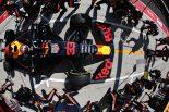 2019年F1第12戦ハンガリーGP決勝 マックス・フェルスタッペン(レッドブル・ホンダ)のピットストップ