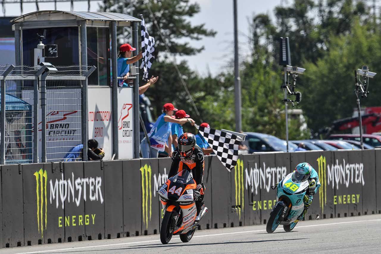 【順位結果】2019MotoGP第10戦チェコGP Moto3クラス決勝