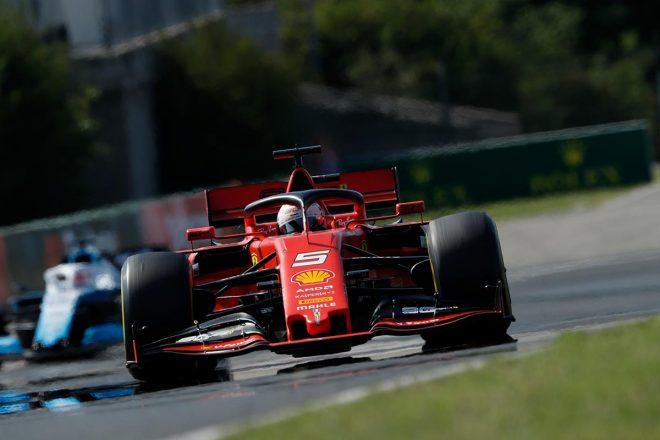 2019年F1第12戦ハンガリーGP セバスチャン・ベッテル(フェラーリ)
