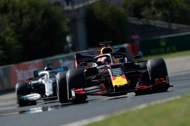 2019年F1第12戦ハンガリーGP マックス・フェルスタッペン(レッドブル・ホンダ)