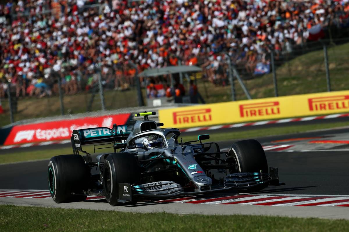 2019年F1第12戦ハンガリーGP バルテリ・ボッタス(メルセデス)