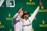 F1 | 逆転勝利のハミルトン、戦略担当者に謝罪「疑ってごめん。19秒差を縮めるなんて無理だと思った」:F1ハンガリーGP