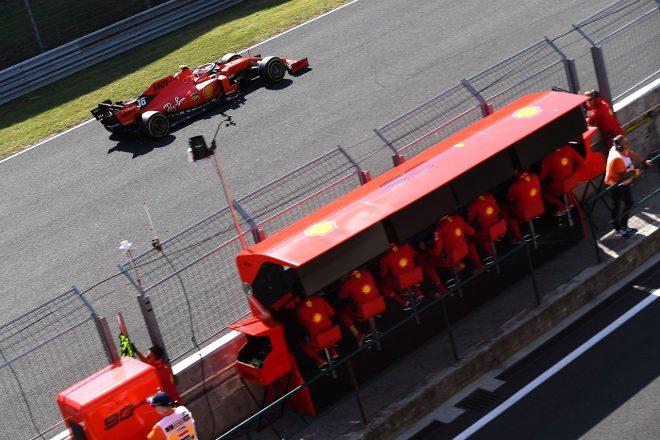 2019年F1第12戦ハンガリーGP日曜 シャルル・ルクレール(フェラーリ)