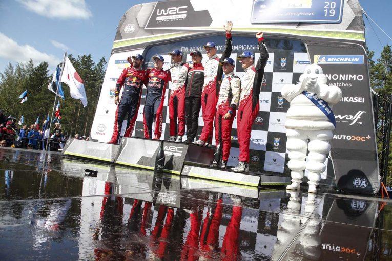ラリー/WRC | 【ポイントランキング】2019年WRC第9戦フィンランド終了時点