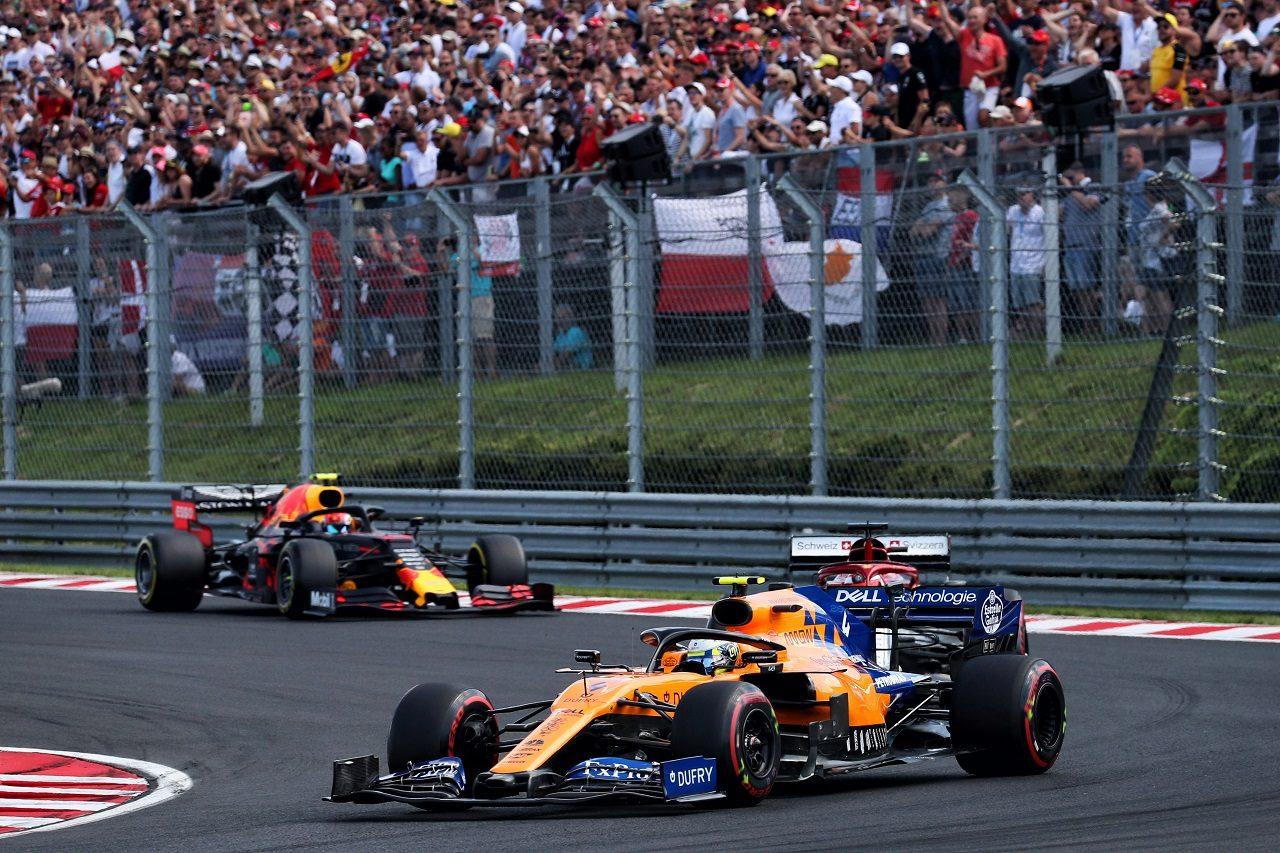 2019年F1第12戦ハンガリーGP ランド・ノリス(マクラーレン)
