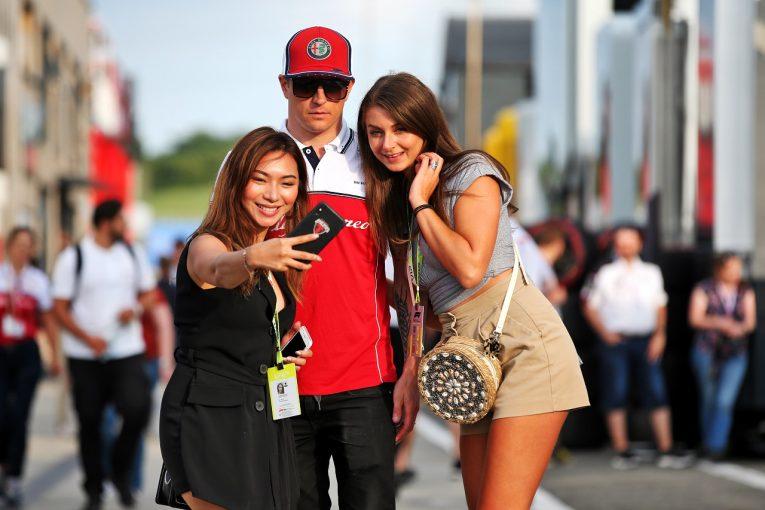 F1   ライコネン7位「いいレースで前半戦を締めくくれた。家族との夏休みを楽しみたい」:アルファロメオ F1ハンガリーGP