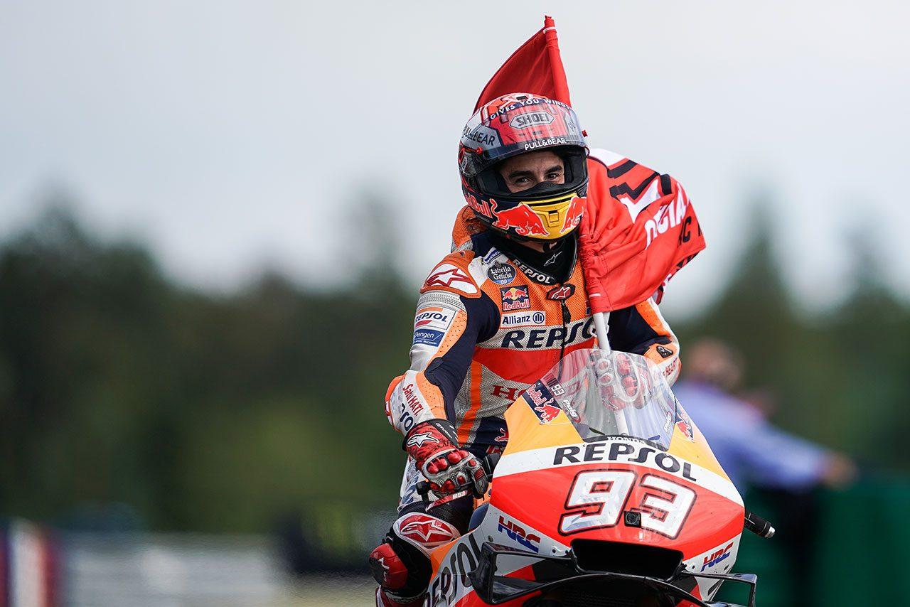 MotoGPチェコGP:刻々と変わる天候にも翻弄されないマルケスの強さ。「とても集中していた」