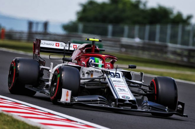 2019年F1第12戦ハンガリーGP アントニオ・ジョビナッツィ(アルファロメオ)