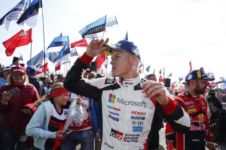 ラリー/WRC | 4勝目で頭ひとつ抜け出たタナク「今回は完璧。ドイツも同じアプローチで戦うつもり」/2019WRC第9戦フィンランド デイ4後コメント
